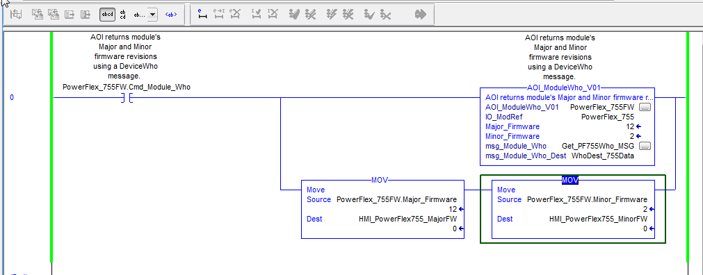 Added Two Tags To MOV Instructions
