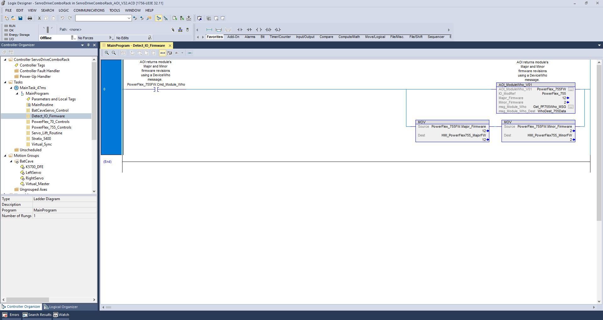 Using Window 10 Version Studio 5000 32