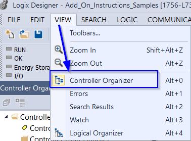 Open Controller Organizer
