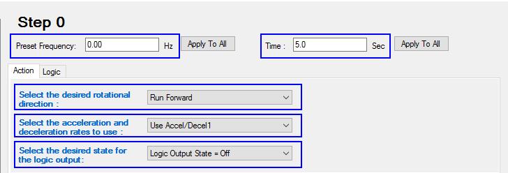 What is Inside PF525 Step Logic