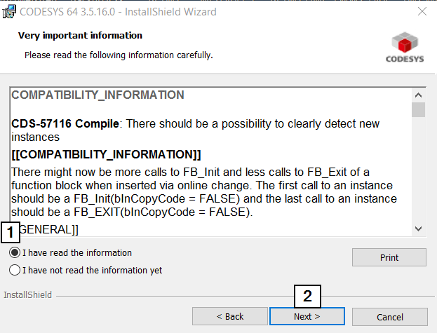 CodeSys Compatibility After Lic Agree